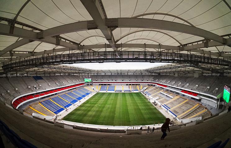 КЧМ-2018 готовы! Cтадион «Ростов-Арена» сдан вэксплуатацию