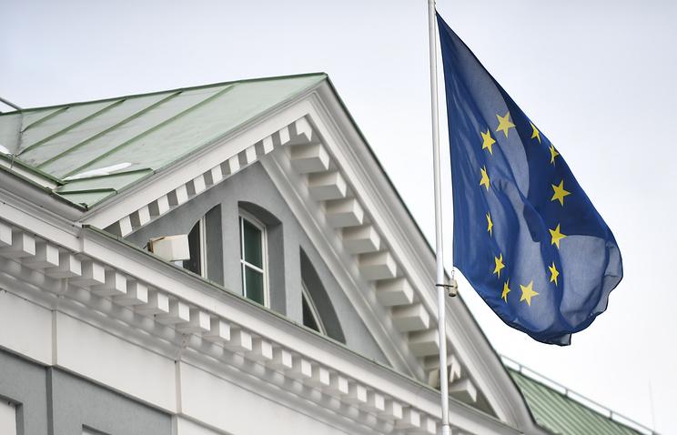 Здание посольства ЕС в Москве