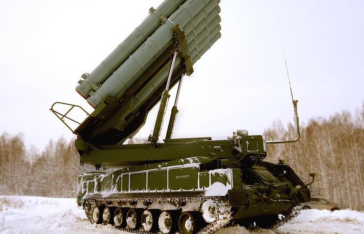 РФ впервый раз предложила наэкспорт новейшую модификацию ЗРК «Бук»
