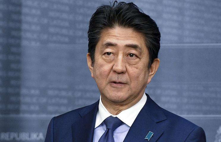 Премьер-министр Японии посетит США вовторой половине апреля