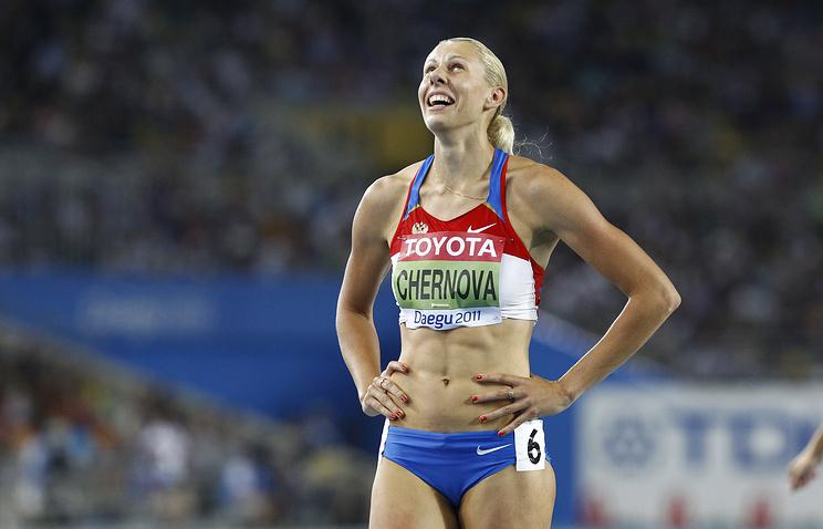 Российскую легкоатлетку Чернову дисквалифицировали на4 месяца
