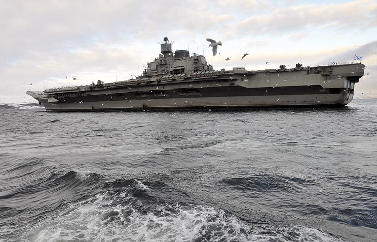 МинобороныРФ: «Адмирал Кузнецов» возвратится всостав ВМФ в 2021-ом