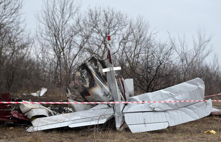 Вчисле версий крушения легкомоторного самолета под Липецком рассматривают ошибку пилота