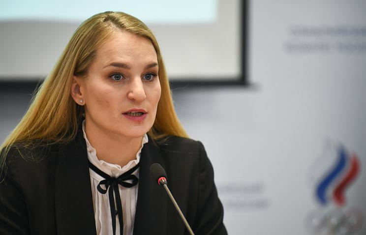 Председатель комиссии спортсменов Олимпийского комитета России, олимпийская чемпионка по фехтованию на саблях Софья Великая