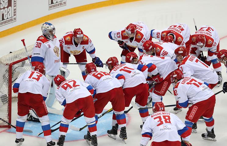 Сборная Российской Федерации проиграла Швеции вматче Еврохоккейтура