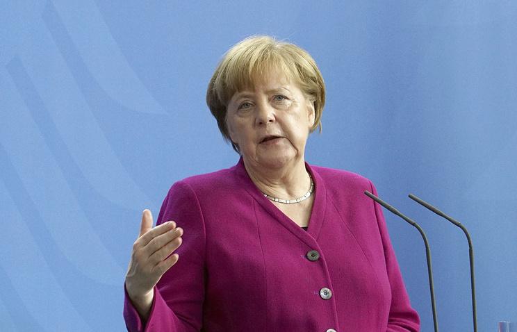 Канцлер ФРГ: ЕС намерен добиваться от США полного отказа от введения пошлин на металлы