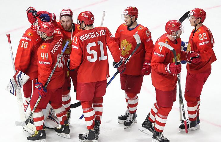 Российские хоккеисты проиграли Швеции начемпионате мира