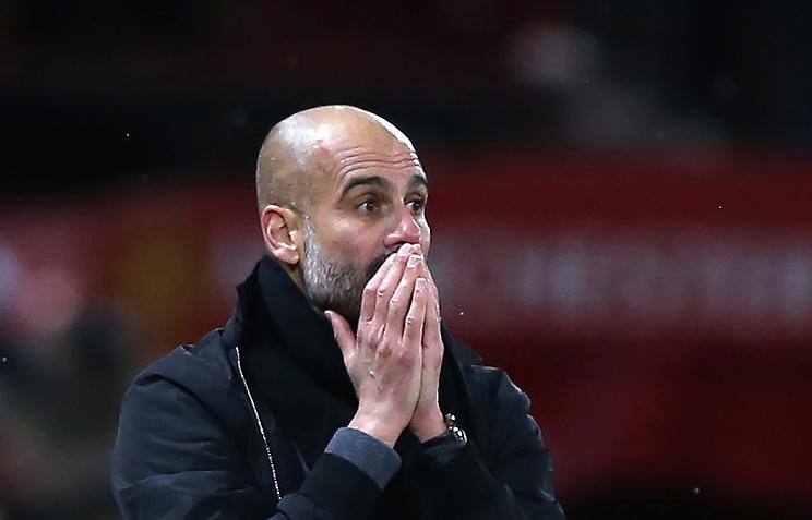 «Манчестер Сити» продлил договор  сГвардиолой до 2021г.