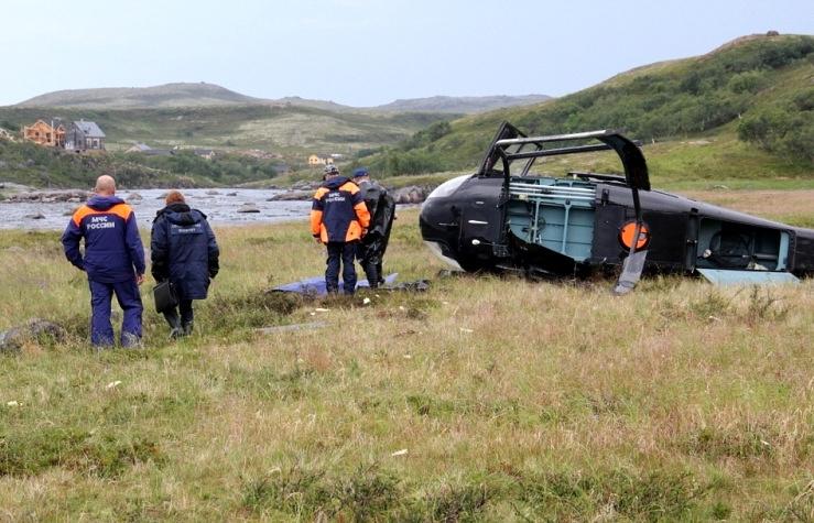 Под Хабаровском личный вертолет совершил аварийную посадку