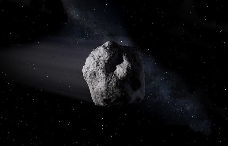 Огромный астероид на100 тыс. лет изменил климат наЗемле