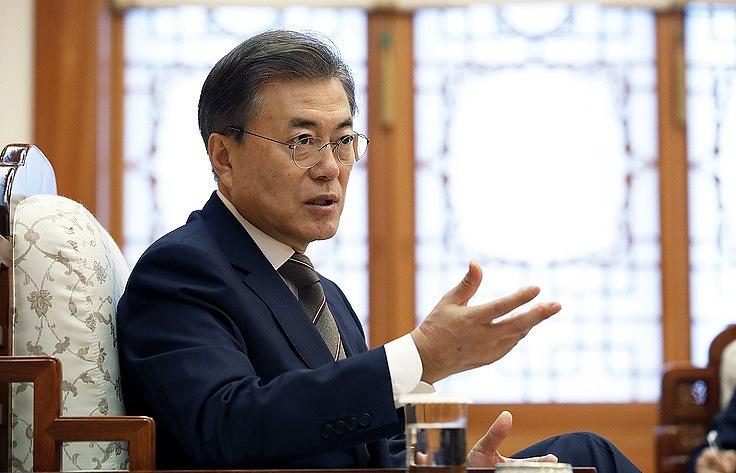 Начальники  2-х  Корей провели второй саммит вПханмунджоме