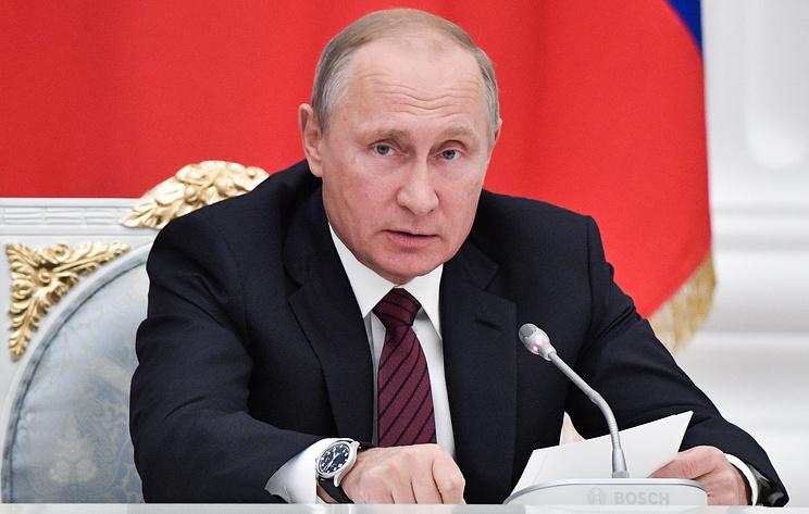 Путин подписал закон осанкциях против США