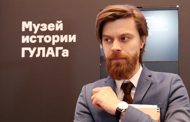 Директор Московского государственного музея истории ГУЛАГа Роман Романов