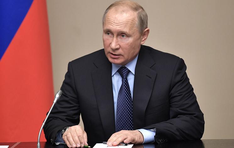 Президент Путин утвердил план по сопротивлению коррупции наближайшие два года