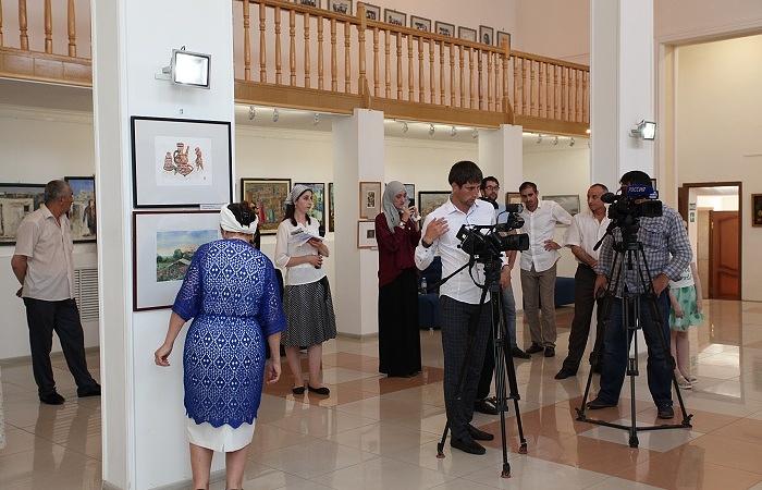 ВИнгушетии прошла выставка картин дагестанских живописцев «Многообразие красок Кавказа»