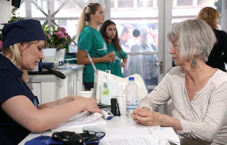 Москвичи смогут бесплатно получить консультацию медсотрудников в10 городских парках