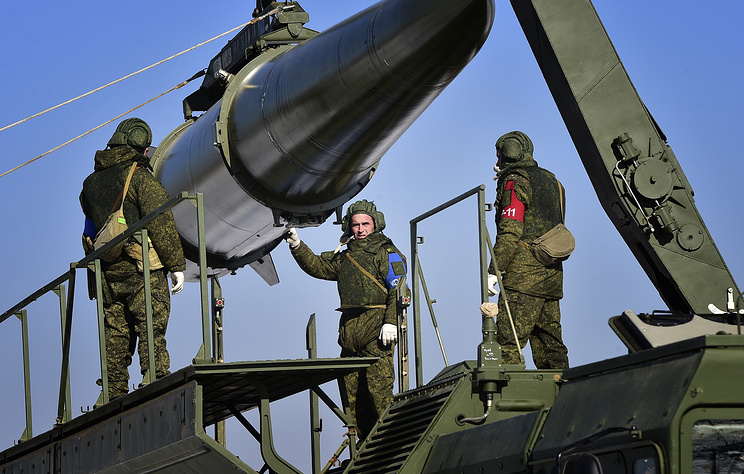 Ракетная бригада «Искандеров-М» поднята потревоге наКубани врамках учений