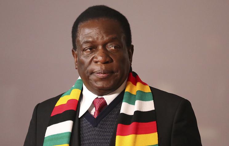 ВЗимбабве действующий президент переизбран на 2-ой  срок