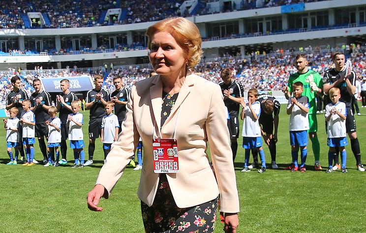 Вице-премьер правительства РФ по вопросам культуры, спорта и туризма Ольга Голодец