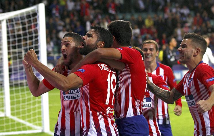 «Атлетико» в 3-й раз одержал победу Суперкубок УЕФА
