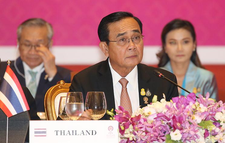 Премьер-минмистр Таиланда Прают Чан-Оча