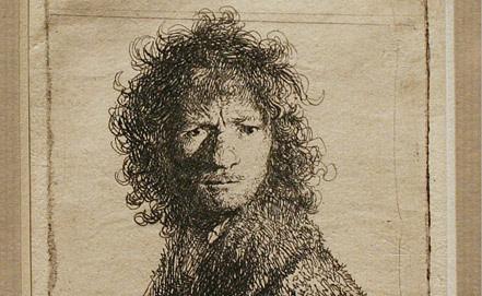 Автопортрет. Рембрандт, глядящий через плечо. Фото ИТАР-ТАСС