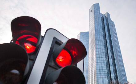 """""""Дойче банк"""", Франкфурт. Фото EPA/ИТАР-ТАСС"""