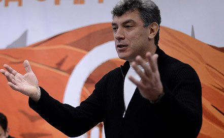 Член Координационного совета оппозиции Борис Немцов. Фото ИТАР-ТАСС