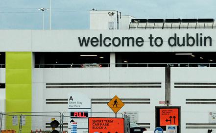 Аэропорт Дублина. Фото EPA/ИТАР-ТАСС
