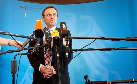 Министр внутренних дел Германии Ханс-Петер Фридрих. Фото EPA/ИТАР-ТАСС
