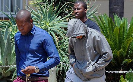 Оскар Писториус взят под стражу. Фото EPA/ИТАР-ТАСС