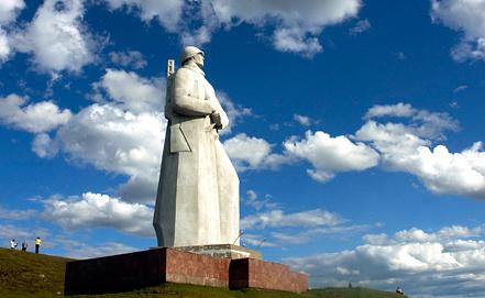 Памятник Защитникам Советского Заполярья. Фото ИТАР-ТАСС/ Лев Федосеев