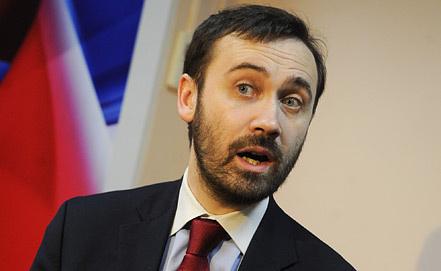 Илья Пономарев. Фото ИТАР-ТАСС