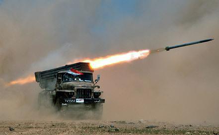 Учения вооруженных сил Сирии. Фото EPA/ИТАР-ТАСС