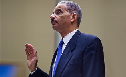 Министр юстиции США Эрик Холдер. Фото EPA/ИТАР-ТАСС