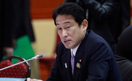 Глава МИД Японии Фумио Кисида, фото EPA/ИТАР-ТАСС