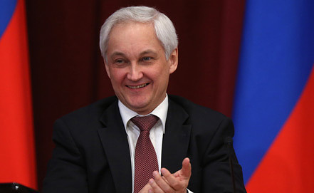 Министр экономического развития Андрей Белоусов. Фото ИТАР-ТАСС