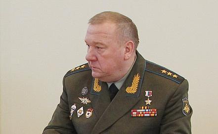 Командующий ВДВ генерал-полковник Владимир Шаманов. Фото ИТАР-ТАСС/ Михаил Климетьев
