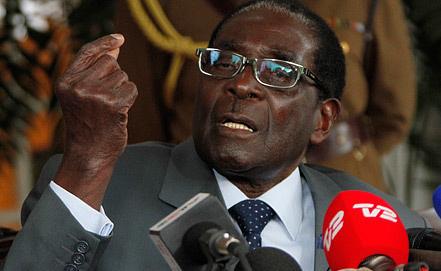 Роберт Мугабе, фото EPA/ИТАР-ТАСС