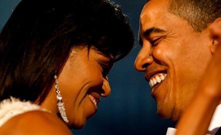 Мишель и Барак Обама. Фото EPA/ИТАР-ТАСС