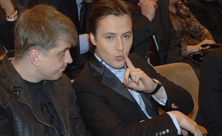 Сергей Пудовкин (слева) и Витас. Фото ИТАР-ТАСС