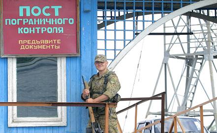 Погранзастава в Астраханской области. Фото ИТАР-ТАСС