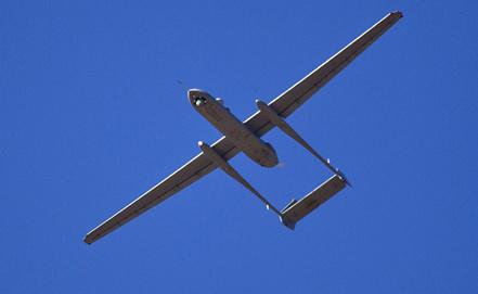Беспилотник Heron, принятый на вооружение ВВС Израиля. Фото EPA/ИТАР-ТАСС