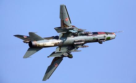 Су-22 на авиашоу РАДОМ, фото ИТАР-ТАСС