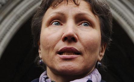 Вдова экс-офицера ФСБ А.Литвиненко Марина. Фото EPA/ИТАР-ТАСС