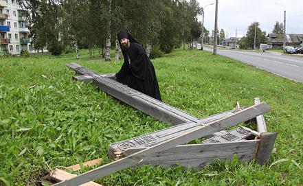 Фото ИТАР-ТАСС/ Пресс-служба Архангельской и Холмогорской епархии