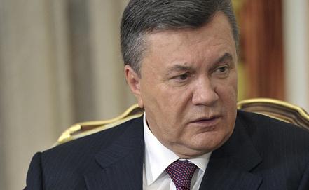 Президент Украины Виктор Янукович. Фото ИТАР-ТАСС