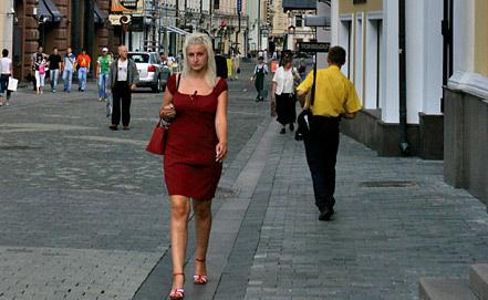 Москва, Столешников переулок. Фото ИТАР-ТАСС