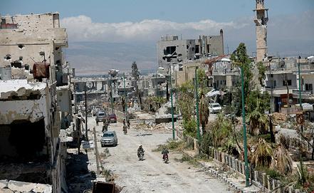 Сирия. Хомс. Фото EPA/ИТАР-ТАСС
