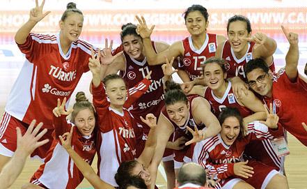 Женская сборная Турции. Фото из архива ИТАР-ТАСС